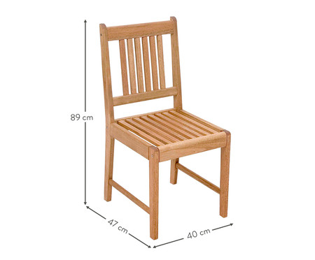 Cadeira Ipanema - Jatobá | WestwingNow
