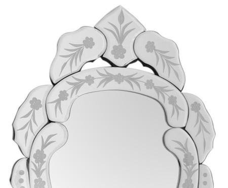 Espelho de Parede Veneziano Emma - Prata | WestwingNow