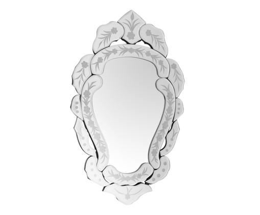 Espelho de Parede Veneziano Emma - Prateado, Espelhado | WestwingNow