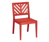 Cadeira Eko sem Braços - Vermelho | WestwingNow