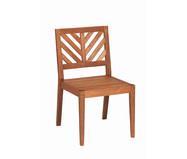 Cadeira Eko sem Braços - Nogueira | WestwingNow