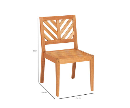 Cadeira Eko sem Braços - Jatobá | WestwingNow