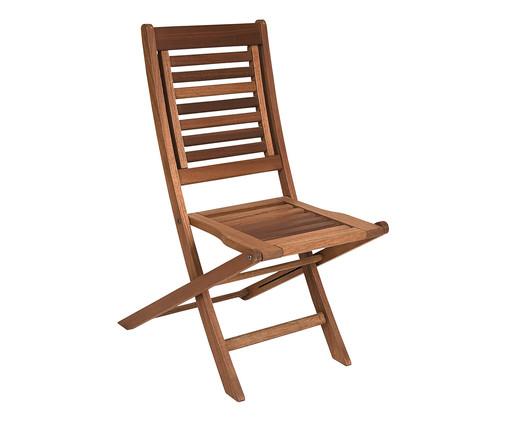 Cadeira Dobrável Parati sem Braços - Nogueira, Marrom | WestwingNow