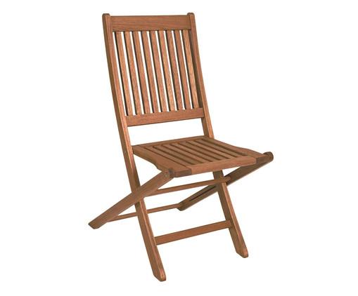 Cadeira Dobrável Ipanema sem Braços - Nogueira, Marrom | WestwingNow