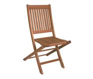 Cadeira Dobrável Ipanema sem Braços - Nogueira | WestwingNow