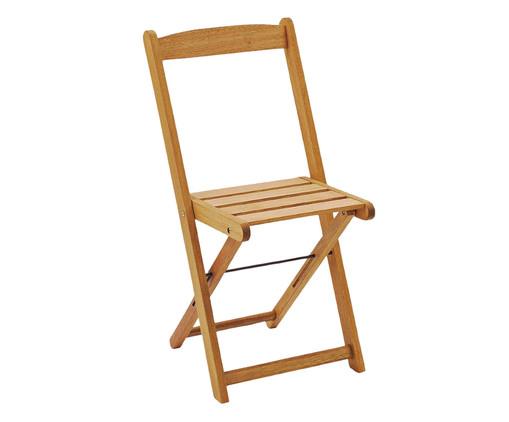 Cadeira Dobrável Veneza - Jatobá, Marrom | WestwingNow