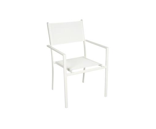 Cadeira Empilhável Square - Branca, Branco | WestwingNow