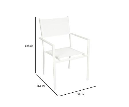 Cadeira Empilhável Square - Branca | WestwingNow