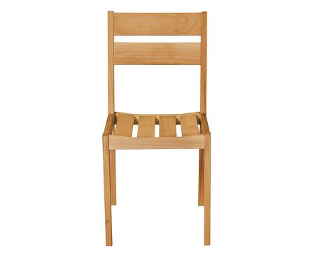 Cadeira Verona sem Braços - Nogueira | WestwingNow