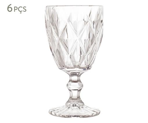 Jogo de Taças para Água em Vidro Iara - Transparente, Transparente | WestwingNow