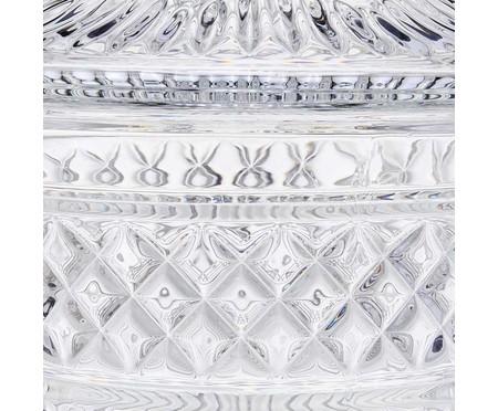 Suqueira em Cristal Roma - Transparente | WestwingNow