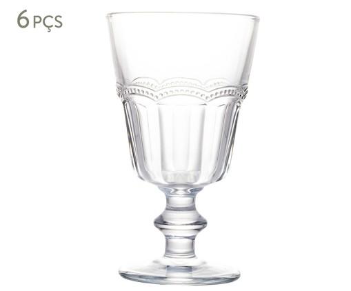 Jogo de Taças para Água em Vidro Yuri - Transparente, Transparente | WestwingNow