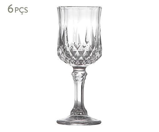 Jogo de Taças para Licor em Vidro Gena - Transparente, Transparente | WestwingNow