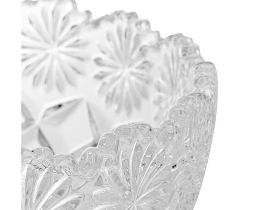 Fruteira com Pé em Cristal Diamond, Transparente | WestwingNow