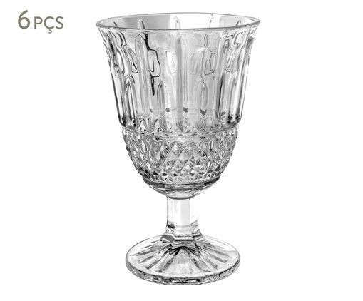 Jogo de Taças para Água Orion - Transparente, Transparente | WestwingNow
