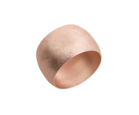 Jogo de Anéis para Guardanapo Losango Acobreado Fosco - 04 Pessoas | WestwingNow