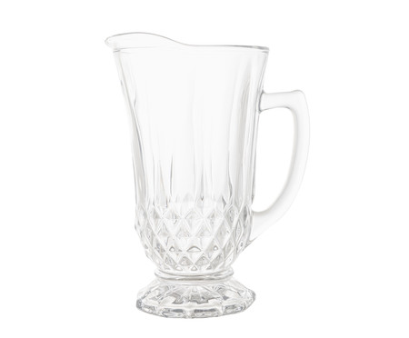 Jarra em Vidro Roberta 1250 ml - Transparente | WestwingNow