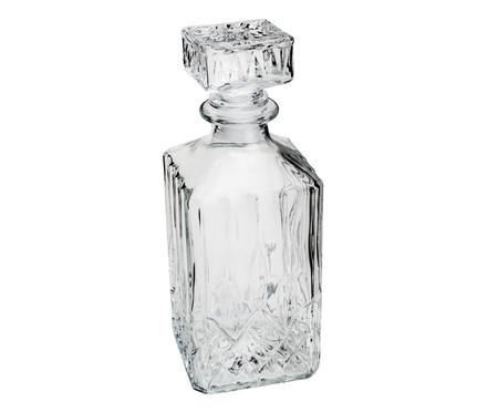 Garrafa para Whisky em Vidro Boston 700 ml - Transparente | WestwingNow