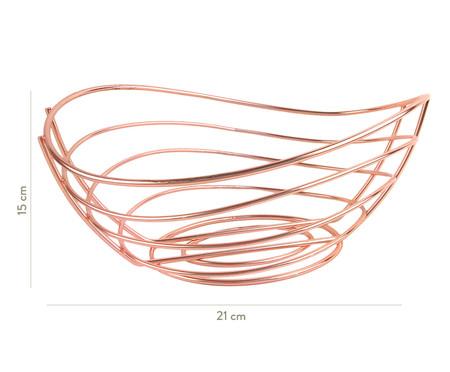 Fruteira de Metal Rúbia - Rosa | WestwingNow