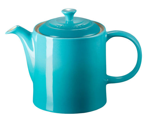 Bule em Cerâmica - Azul Caribe, azul   WestwingNow
