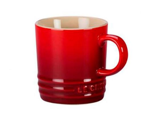 Caneca para Espresso em Cerâmica - Vermelho, Vermelho | WestwingNow
