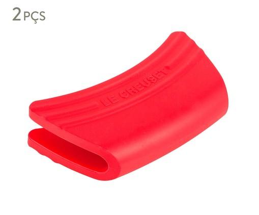 Jogo de Pegadores em Silicone - Vermelho, Vermelho | WestwingNow
