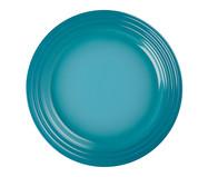 Prato Raso em Cerâmica - Azul Caribe | WestwingNow