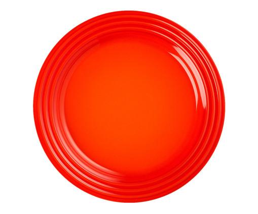 Prato Raso em Cerâmica - Laranja, Laranja | WestwingNow