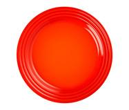 Prato Raso em Cerâmica - Laranja | WestwingNow