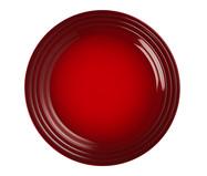 Prato Raso em Cerâmica - Vermelho | WestwingNow