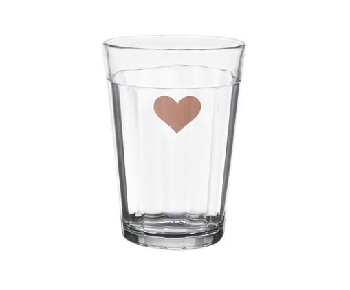 Copo para Água em Vidro Isa - Rosé, Transparente | WestwingNow