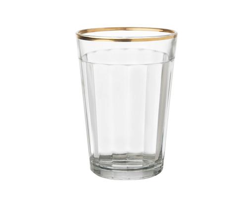 Copo para Água em Vidro Eva - Transparente, Transparente | WestwingNow