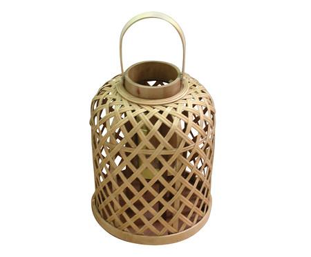 Lanterna Decorativa Bamboo - Marrom | WestwingNow