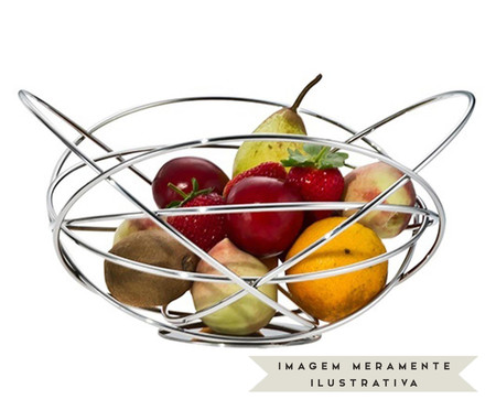 Fruteira em Inox Potenza | WestwingNow