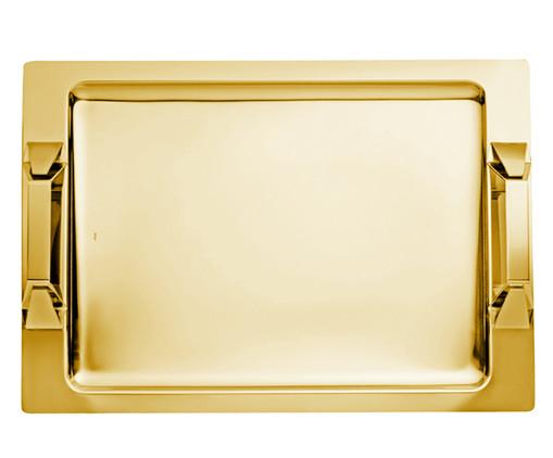 Bandeja em Ouro Vezzini, Dourado | WestwingNow