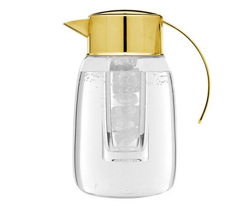 Jarra em Ouro Nice - Dourada, Transparente,Dourado   WestwingNow
