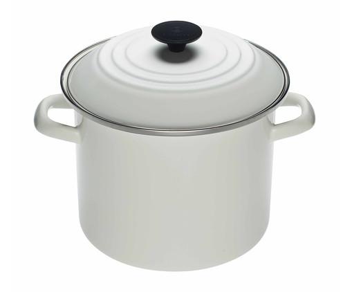 Stock Pot de Aço - Branco, Branco | WestwingNow