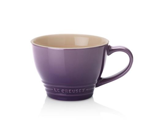 Caneca em Cerâmica Bistrô - Violeta, roxo | WestwingNow