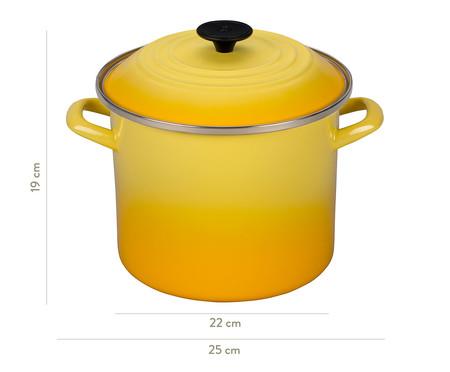 Stock Pot de Aço - Amarela Sun | WestwingNow