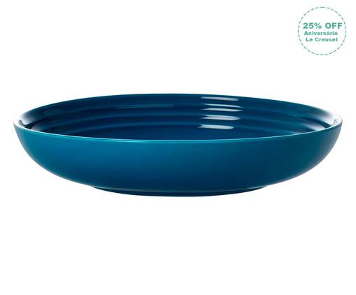 Prato Fundo em Cerâmica - Azul Marseille, azul | WestwingNow