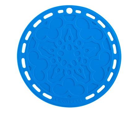 Suporte de Silicone Mandala - Azul Marseille | WestwingNow