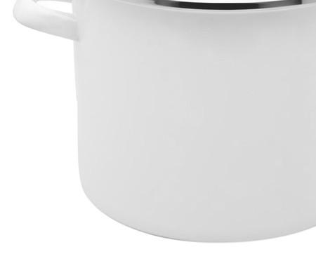 Stock Pot em Aço - Branco | WestwingNow