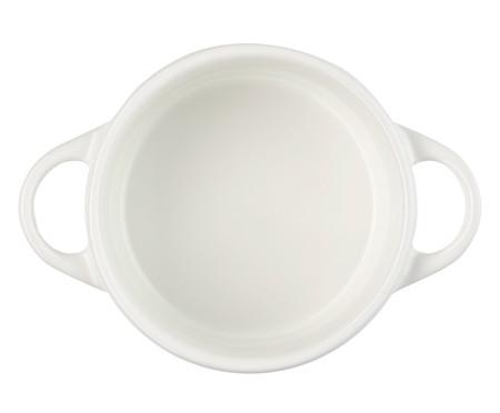 Mini Cocotte em Cerâmica - Branco | WestwingNow