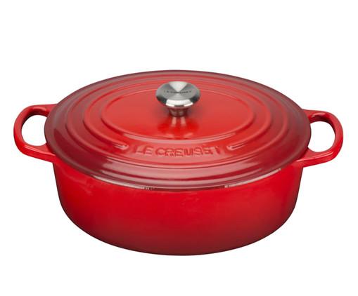 Panela Oval Signature em Ferro Fundido - Vermelho, Vermelho | WestwingNow