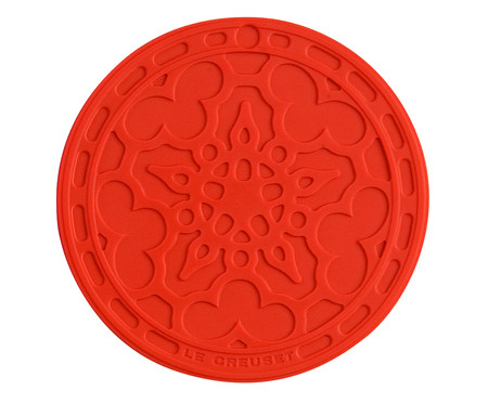 Suporte de Silicone Mandala - Vermelho | WestwingNow