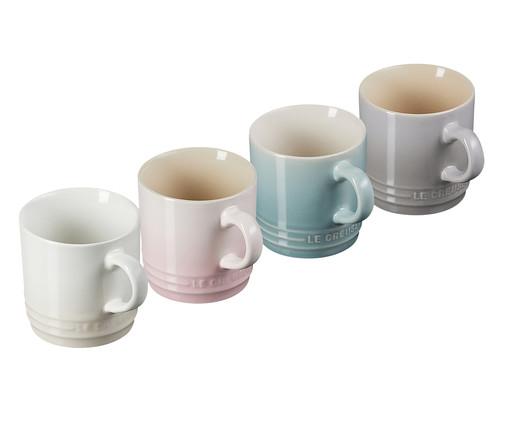 Jogo de Canecas de Chá em Cerâmica Calm - 04 Pessoas, multicolorido   WestwingNow