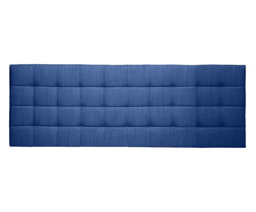 Cabeceira Painel em Linho Matelassê - Azul, Azul | WestwingNow