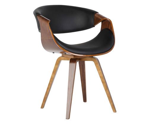Cadeira Issa - Preta, preto, natural   WestwingNow