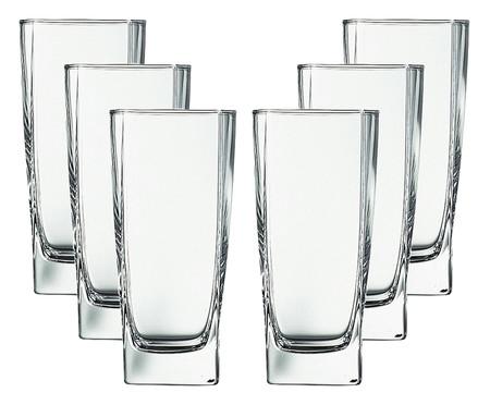 Jogo de Copos para Água em Vidro Joni - Transparente | WestwingNow
