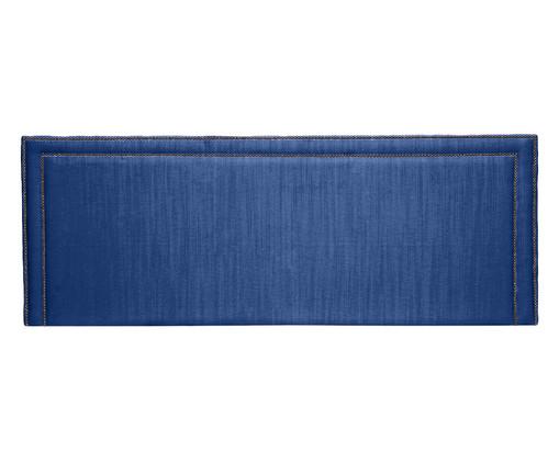 Cabeceira Painel em Linho Adele - Azul, Azul | WestwingNow
